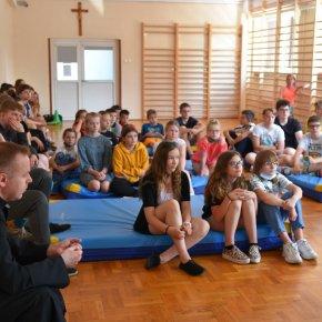 KSP Biała Podlaska - Spotkanie z misjonarzem