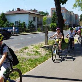 """KSP Biała Podlaska - Rajd rowerowy """"Kręcimy dla Białej Podlaskiej"""""""